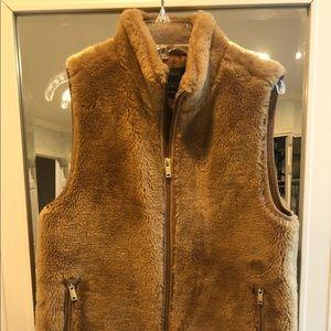 Faux Fur JCrew Vest (Fawn Colored)
